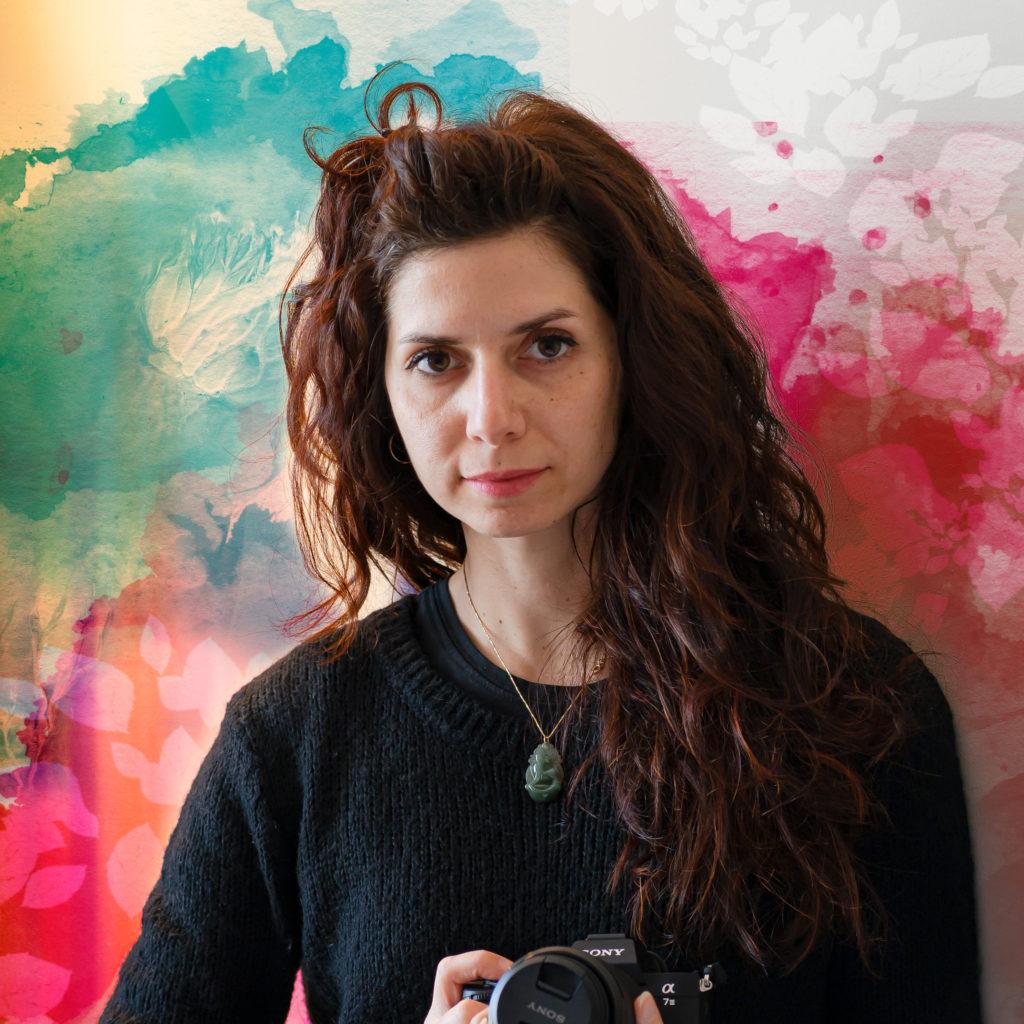 Giorgia self portrait